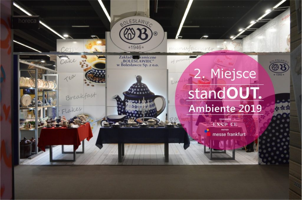 II Miejsce - StandOUT Ambiente 2019